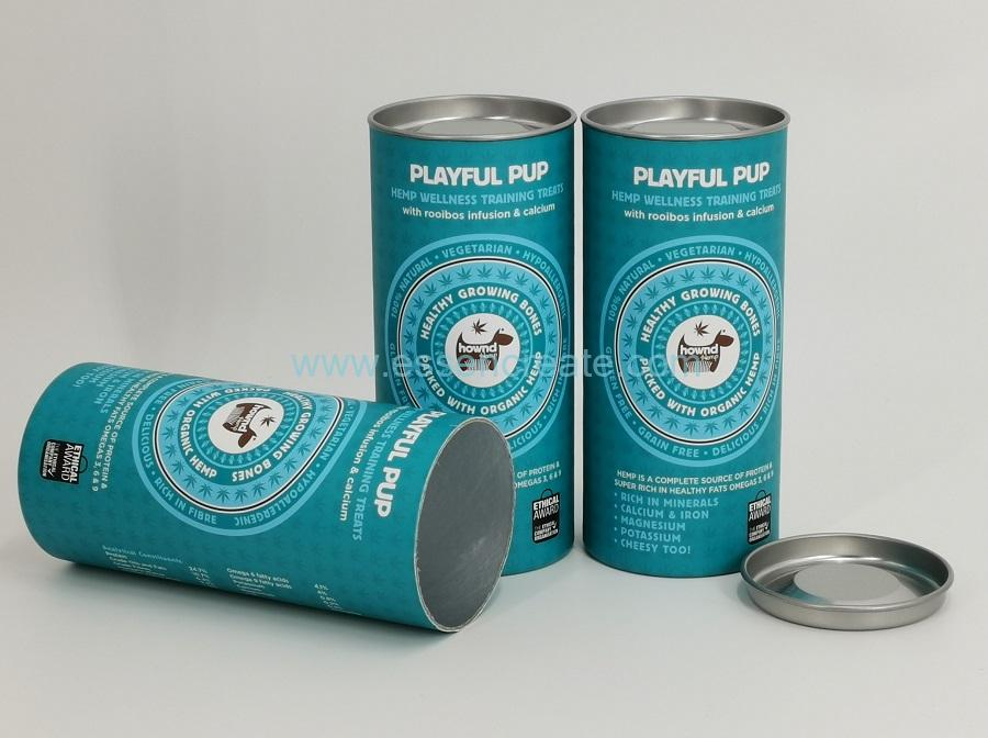 Pup Health Food Packaging Cans with Silver Tin